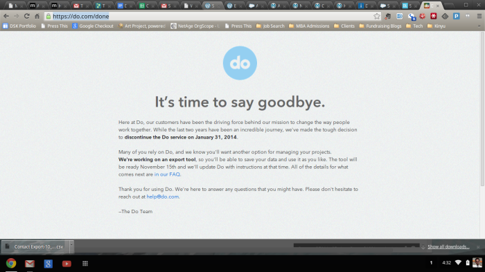 Do.com is Done!
