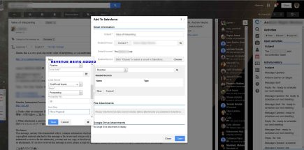 Adding an Opportunity to Salesforce from within Gmail