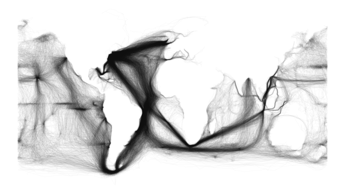 Ghostly Continents, Oceans Thick with Trade